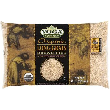 Yoga Organics: Organic Long Grain Brown Rice, 32 Oz