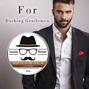 Beard Balm for Men, Franterd 30g Beard Balm Leave Moisturizing Care Cream Beard Care Lubricating Cream