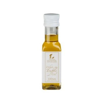 White Truffle Oil (3.38 Oz) by TruffleHunter - Made with Cold Pressed Extra Virgin Olive Oil - Vegan, Kosher, Vegetarian and Gluten Free - Non-GMO, No MSG