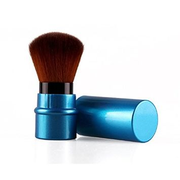 Tonsee 1pc Retractable Beauty Cosmetic Brush Makeup Tools [Blue]