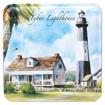 Byrd Cookie Company, Key Lime Coolers, 6-Ounce Tybee Lighthouse Tins (Pack of 3)