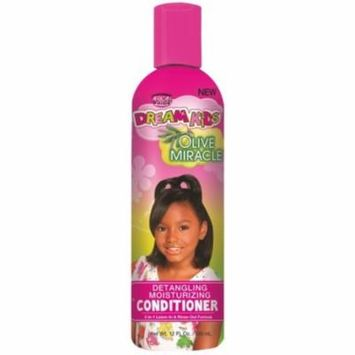 3 Pack - African Pride Dream Kids Detangler Miracle Conditioner, 12 oz