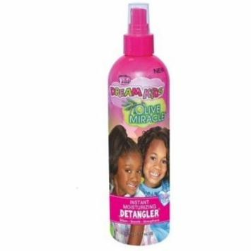 6 Pack - African Pride Dream Kids Olive Miracle Detangler 8 oz