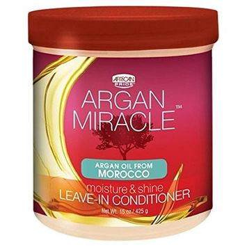 African Pride Argan Miracle Leave-in Conditioner, 15 Ounce