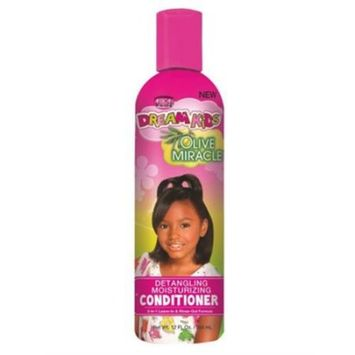 African Pride Dream Kids Detangling Moisturizing Conditioner, 12 oz (Pack of 2)