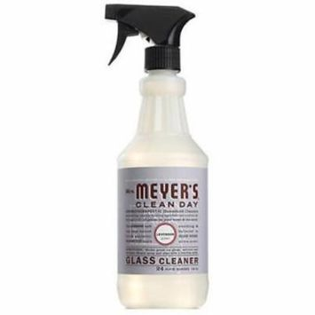 NEW 2PK MrsMeyer's Clean Day 24 OZ Lavender Scent Glass Cleaner Works Great As