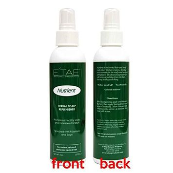 Etae Natural Products Nutrient Herbal Scalp Replenisher Spray 6oz for Natural, Relaxed, Color Treated Hair [1 item]