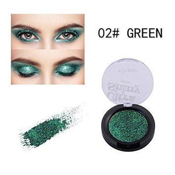 CYCTECH 25 Colors Eyeshadow Palette Glitter Powder Waterproof Eye Shadow Cosmetics Makeup Disc