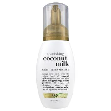 OGX® Nourishing Coconut Milk Weightless Mousse