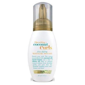 Ogx Coconut Curls Moisture Mousse 8oz (Frizz-Defying) by (OGX) Organix