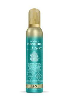 Ogx Locking + Coconut Curls Decadent Creamy Mousse