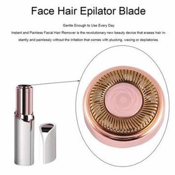 Women Electric Face Hair Epilator Blade for Razor Depilator Lipstick Shaving Tool