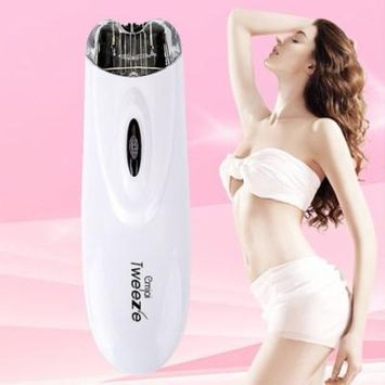 OUTAD Mini Electric Pull Tweeze Device Women Hair Removal Epilator Facial Trimmer