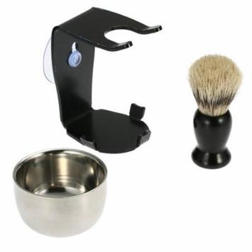 Original Manual Shaving Brush Set With Sucker Old-fashioned Men Shavers Shaving Razor Hair Beard Razor Suit For Home Salon