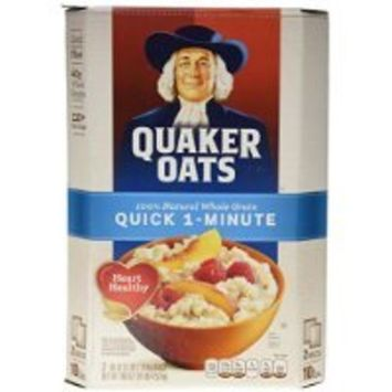 Quaker Oats Quick 1 Minute Oatmeal - 2/5 lb. have a problem Contact 24 hour service Thank You