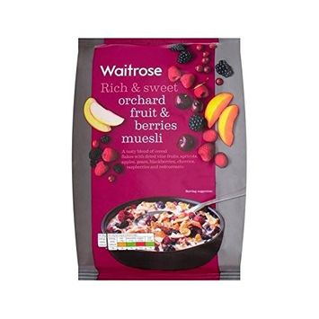 Orchard Fruit Berry Muesli Waitrose 1kg