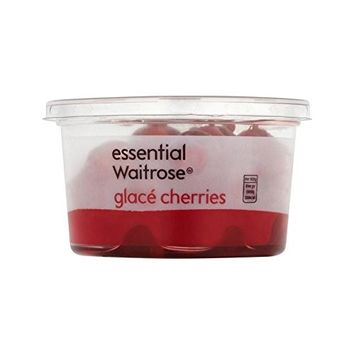 Glace Cherries essential Waitrose 200g