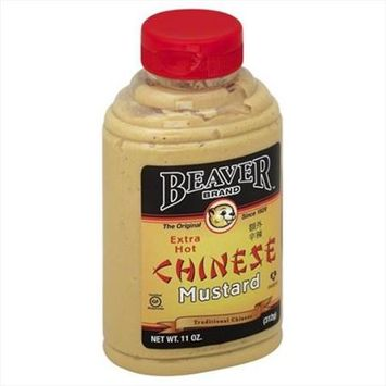 Beaver 11 oz. Mustard Squeeze Chinese Case Of 6
