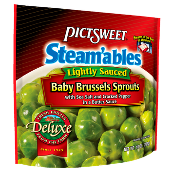 Pictsweet Lightly Sauced Baby Brussels Sprouts Steam'ables