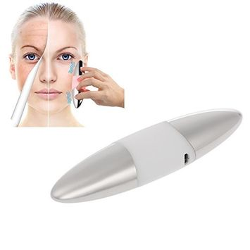 Anself Portable Handheld Time Ion Instrument Face Eye Massager Essential Oil Booster Micro-Vibration Eye & Face Massager