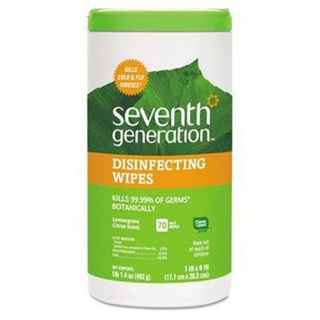 Disinfecting And Cleaning Wipes 7 X 8 White 70/Canister
