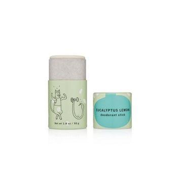 Meow Meow Tweet Deodorant Stick - Eucalyptus Lemon - 1.8oz