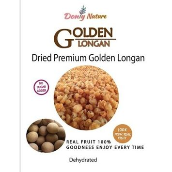 Dried Goldden Longan Premium Quality Real Fruit 100% 120g No sugar adder Healthy Snack and Enjoy Time