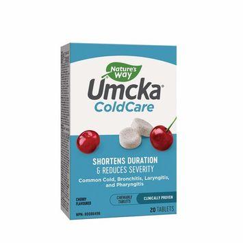 Natures Way Umcka Coldcare Cherry Chew, 20 CT