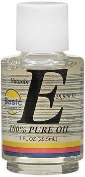 Basic Vitamins Vitamin E Oil 28,000 IU - 1 oz, Pack of 2