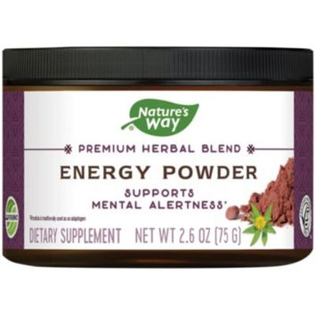 Energy Powder (2.6 Ounces Powder) by Natures Way at the Vitamin Shoppe