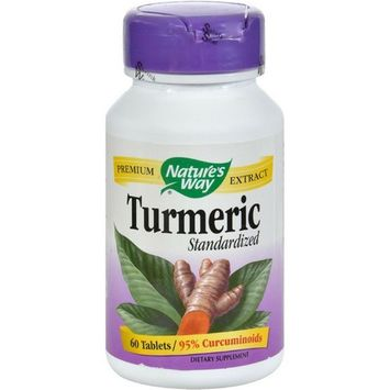 Nature's Way Turmeric Standardized Dietary Supplement Tablets, 500mg 60 ea