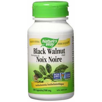 Natures Way Black Walnut Hulls, 100 CT
