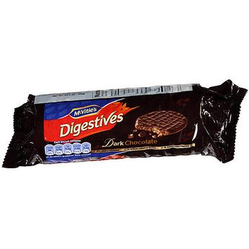 Mcvities McVitie's Dark Chocolate Digestives Biscuits, 10.5 oz, (Pack of 24)