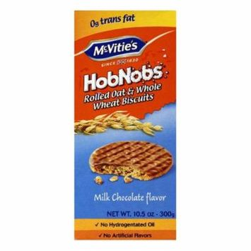 McVities Milk Chocolate Flavor Whole Wheat Biscuits, 10.5 Oz (Pack of 12)