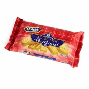 McVities All Butter Shortbread Cookies, 7 Oz
