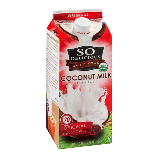 So Delicious Coconut Milk Dairy Free Original