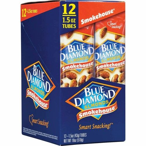 Blue Diamond Almonds,on the go, Smokehouse, (1.5 Ounce Pack of 24)