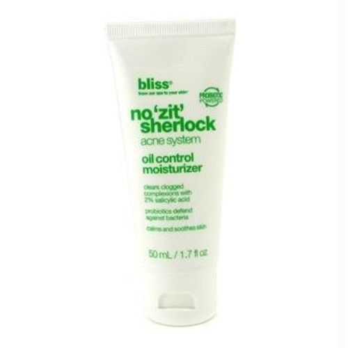 bliss No 'Zit' Sherlock Oil Control Moisturizer, 1.7 fl. oz.