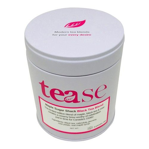 Maple Sugar Shack by Tease Tea - 2oz Tin of Maple Infused Black Tea