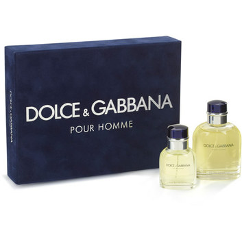 Dolce & Gabbana Pour Homme Eau De Toilette Natural Spray Fragrance Gift Set