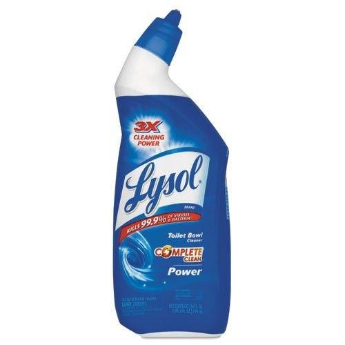 LYSOL Brand Disinfectant Toilet Bowl Cleaner, Wintergreen Scent, Liquid, 24 oz Bottle