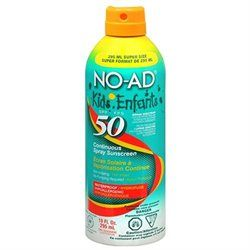 NO-AD: Kids Continuous Aerosol Spray SPF 50