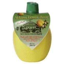 Dream Foods International Volcano Lemon Burst, 6.7 oz Containers, 12 pk