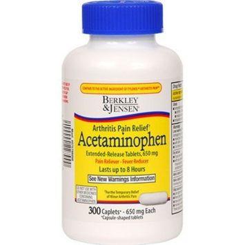 Berkley & Jensen Acetaminophen Arthritis 300ct. *Compare to Tylenol Arthritis*