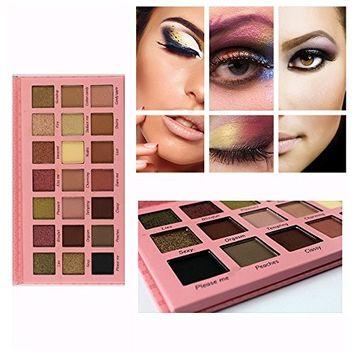Eyeshadow Palette,FTXJ New 21 Color Eyeshadow Makeup Palette Long Lasting Waterproof Eye Shadow Set