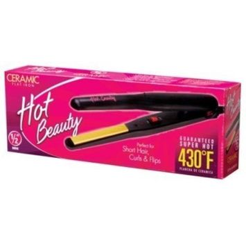 Hot Beauty Flat Iron 0.5Inch by Hot Beauty