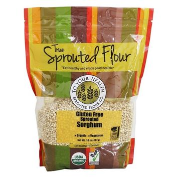 Organic Gluten-Free Sprouted Sorghum - 16 oz.