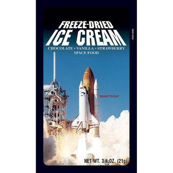 Freeze-Dried Neapolitan Ice Cream Slice - Box of 100 - The Original Space Ice Cream