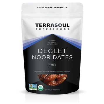 Terrasoul Superfoods Organic Deglet Noor Dates (Pitted), 2 Pounds