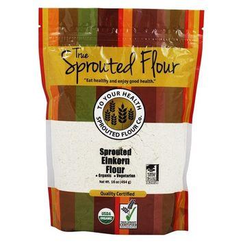 Organic Sprouted Einkorn Flour - 16 oz.